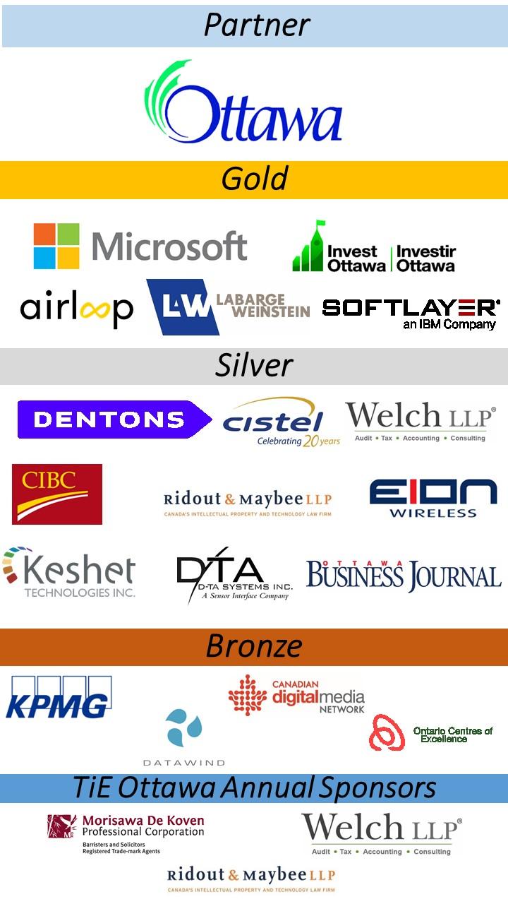 Sponsor Logos TiECon 2015